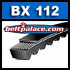 BX112 Molded Notch V-Belts. BX Cogged Series.