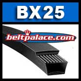 BX25 V-Belt. COGGED BX25 Industrial V-Belt.