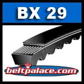BX29 V-Belt. COGGED BX29 Industrial V-Belt.