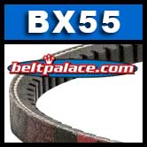 BX55 Molded Notch V-Belts: BX Series