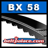 BX58 Molded Notch V-Belts: BX Series