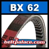 BX62 Power King V Belt. COGGED BX62 Industrial V-Belt.