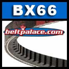 BX66 Power King V Belt. COGGED BX66 Industrial V-Belt.