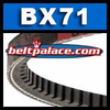 BX71 Molded Notch V-Belts, BX Series