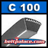 C100 V-Belt. (POWER KING/HI - POWER II) V-BELTS: C Section
