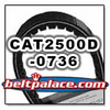 SPIRIT CAT 2500D-0736, CPC belt replacement CVT Belt for PUG F4A �98.