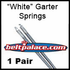 Comet 011190A White Garter Spring Kit (2 Springs per Package).