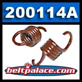 """Comet 200114A Red Clutch Springs. Package of 2. Standard """"Red"""" springs for 350 Series Clutch. 1800/2000 engagement."""