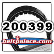 COMET 200399 (A-DF), Comet Industries belt replacement for CAT99 Series, 993-100 Go Kart belt.