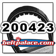 COMET 200423 (A-DF), Comet Industries belt replacement for TC88 Series, 883-90 Go Kart belt.