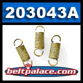 Comet 203043A YELLOW Clutch Springs. Package of 3 Yellow Springs for 40C Drive Clutch.