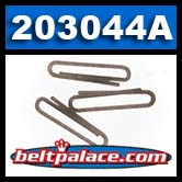 "Comet 203044A. Package of 3 ""Spring Clips"" for Comet Industries 40 SERIES ""40C"" Drive Clutch. Comet Industries 203044-A."