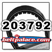 COMET 203792 (A-DF), Comet Industries belt replacement for 40/44 Series, 40-105 Go Kart belt.
