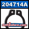 Comet 204714A. Package of 1 Retaining Ring for Comet Industries 20/30 SERIES Driven Clutch. Comet Industries 204714-A.