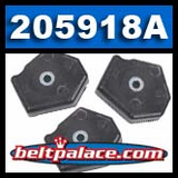 """Centrifugal Clutch Shoes 3.5/"""" 204495A Comet"""