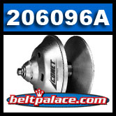 Comet 206096A - Comet Duster (94C) Series Drive Clutch. 30mm 1:10 RECESSED Bore (Tapered).