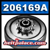 Comet 206169A automatic centrifugal clutch. Comet Industries 206169-A. SCS 400 Series Drive Clutch.