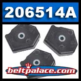 Comet 206514A activator pucks. One Package of 3 Pucks.