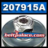 Comet Industries 207915A. OEM Replacement Secondary Pulley.