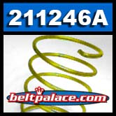 Comet 211246A Yellow Compression Spring