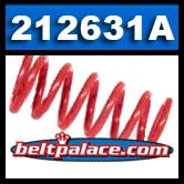 Comet 212631-A. Red Spring for 94C Duster Clutches