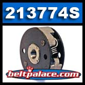 "Comet 213774S. Comet Industries/HOFFCO Tiller Clutch. 2"" Diameter, Threaded Bore."