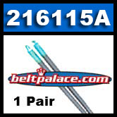 "Comet 216115A, 2-Pack of ""Blue/Silver"" Garter Springs. Comet 20/30 Series (Jr. Dragster)."
