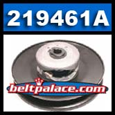 """Comet 219461A Driven Clutch. 7"""" Dia. 5/8"""" Bore. Comet Industries Lower Pulley."""