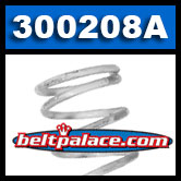 Comet 300208A - White Compression spring for secondary pulley