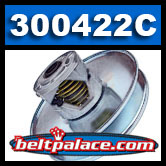 "Comet 300422C Secondary Pulley. 770 Series. 1"" Bore."