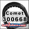 COMET 300668 (A-DF) Comet Industries belt replacement for 500 and 858 Series Go Kart.