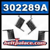 """Comet 302289A - Pack of 6 """"Black"""" replacement springs"""