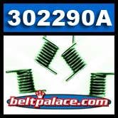 "Comet 302290A - Pack of 6 ""GREEN"" 780/500 Series Drive Clutch Springs"