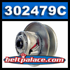 Comet 302479C. OEM MultiQuip 12879 Driven/Lower Pulley unit.