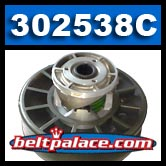 "COMET 302538C DRIVEN PULLEY, CVT LOWER (COMET 302538-C). 1"" Bore."