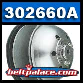 Comet 302660A. Comet 858 Series Drive Clutch with Alternator pulley.