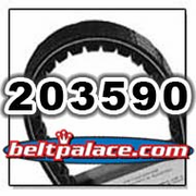 COMET 203590 DRIVE BELT. Comet Industries 994-75 Belt
