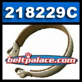 "Comet 218229C band brake with ceramic lining. 4.3"" Diameter."