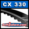 CX330 GATES TRI-POWER Molded Notch V-Belts: CX Series
