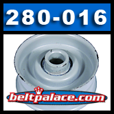 FLAT IDLER PULLEY for SNAPPER 7010948 Lawn Tractor and Mower