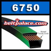 Gates 6750 PoweRated V-Belts