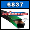Gates 6837 PoweRated V-Belts