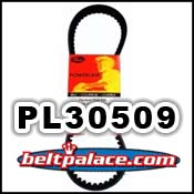 GATES™ PL30509 Premium Powerlink Kevlar Scooter Belt. 785x17.9x30 Metric Belt.