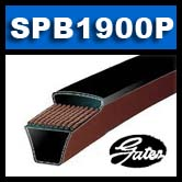 GATES SPB1900-P (Predator) Ultra Heavy Duty Single V-Belt SPB1900.