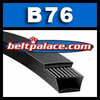 B76 BANDO POWER ACE V-BELT.