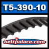 T5-390-10 Metric Timing belt. 10MM Wide.