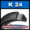 K24 V-Belt. Specialty belt for industrial tools.