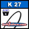 K27 Metric V Belt. BANDO K27/K686 Industrial V-Belt.