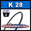 K28 Metric V Belt. IMPORT K28/K711 Industrial V-Belt.