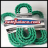 "Link V Belt: 3L Section. 0.375"" (3/8"") Top Width. Urethane Molded Link V-Belts Sold by the Lineal Foot (USA)."